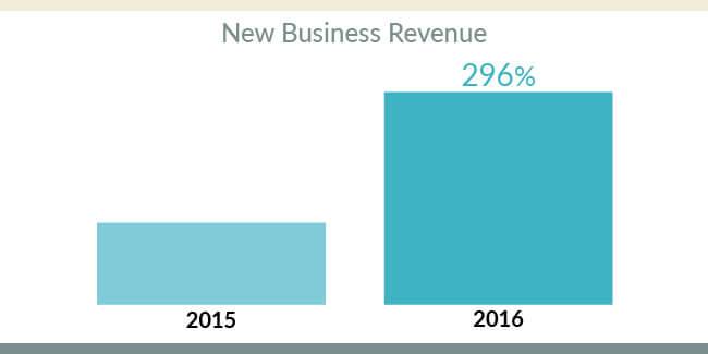new business revenue
