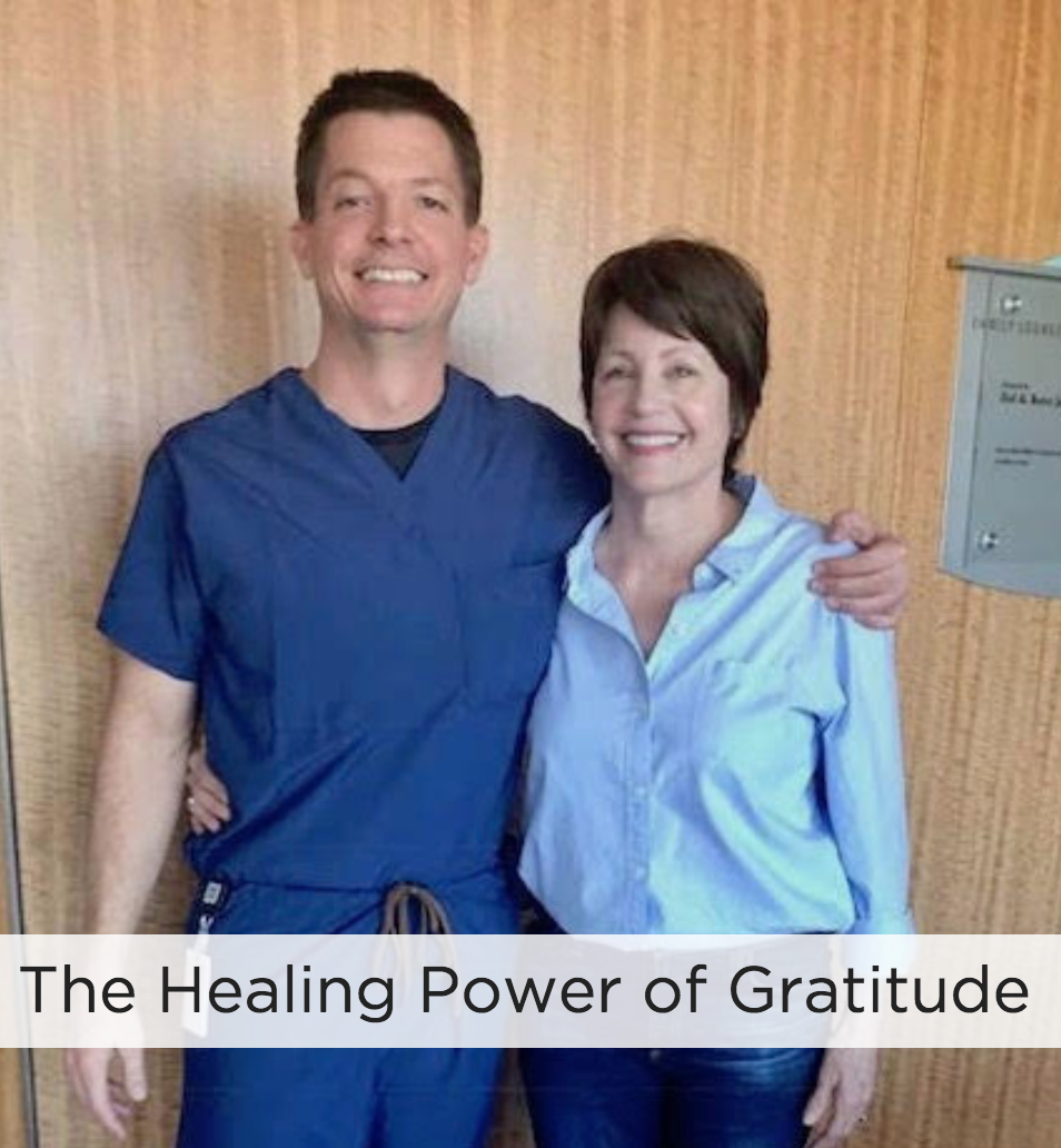 The healing power of gratitude